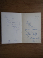 Mircea Micu - Poeme pentru mama (cu autograful autorului)