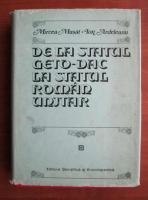 Anticariat: Mircea Musat - De la statul geto-dac la statul roman unitar
