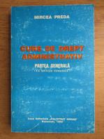 Mircea Preda - Curs de drept administrativ, partea generala cu sinteze tematice