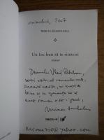 Anticariat: Mircea Sandulescu - Un loc bun sa te sinucizi (cu autograful autorului)