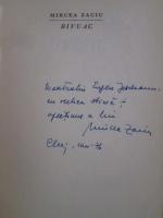 Mircea Zaciu - Bivuac (cu autograful autorului)