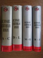 Mircea Zaciu - Dictionarul scriitorilor Romani (4 volume)