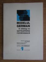 Anticariat: Modelul german in dialog cu spiritualitatea romaneasca. Nr. 1, anul 2000