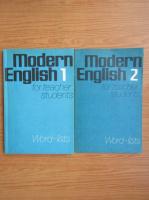 Anticariat: Modern English for teacher students. Word-lists (2 volume)