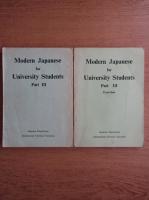 Modern japanese for university students. Modern japanese for university students, exercises (partea a 3-a)