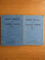 Modern Japanese for university students (partea 1)