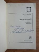Modest Morariu - Nasterea nostalgiei (cu autograful autorului)