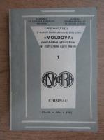 Anticariat: Moldova. Deschideri stiintifice si culturale spre vest (volumul 1)