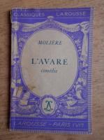 Anticariat: Moliere - L'Avare (1936)