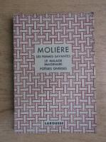Moliere - Theatre complet illustre. Les femmes savantes. Le malade imaginaire. Poesies diverses (aprox. 1930)
