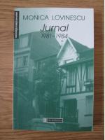 Anticariat: Monica Lovinescu - Jurnal 1981-1984