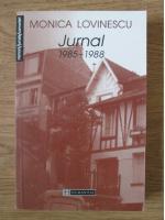 Anticariat: Monica Lovinescu - Jurnal 1985-1988