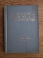 Monografia geografica a Republicii Populare Romane, volumul 1. Geografia fizica. Anexe