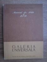 Anticariat: Muzeul de Arta al RPR. Galeria Universala