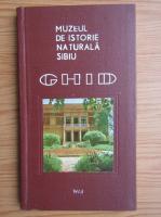 Anticariat: Muzeul de istoriei naturala Sibiu. Ghid