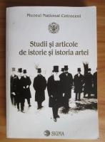 Anticariat: Muzeul National Cotroceni. Studii si articole de istorie si istoria artei