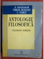 Anticariat: N. Bagdasar - Antologie filosofica. Filosofi straini
