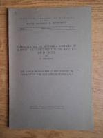 N. Cernescu - Capacitatea de schimb a solului cu continutul de argila si humus (1939)