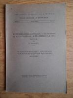 N. Cernescu - Determinarea capacitatii de schimb si a cationilor schimbabili la sol (1939)
