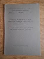 N. Cernescu - Humusul in raport C:N in profilele tipurilor zonale de sol (1941)