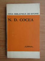 Anticariat: N. D. Cocea - Jurnal