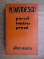 Anticariat: N. Davidescu - Poezii, teatru, proza