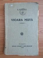 Anticariat: N. Davidescu - Vioara muta (1928)