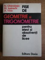 N. Ghircoiasiu - Fise de geometrie si trigonometrie pentru elevi si studenti de licee