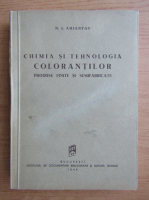 N. I. Amiantov - Chimia si tehnologia colorantilor (1949)