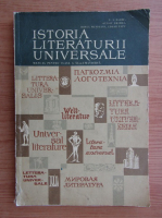 N. I. Barbu, Ovidiu Drimba - Istoria literaturii universale. Manual pentru clasa a XI-a umanistica (1967)
