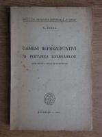 N. Iorga - Oameni reprezentativi in purtarea razboaielor (1943)
