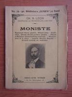 Anticariat: N. Leon - Moniste (1909)