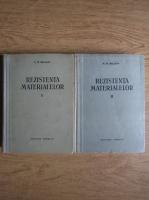 Anticariat: N. M. Beleaev - Rezistenta materialelor (2 volume)