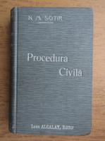 N. M. Sotir - Noul codice de procedura civila (1900)