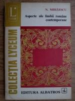 N. Mihaescu - Aspecte ale limbii romane contemporane