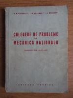 N. N. Buchholtz - Culegere de probleme de mecanica rationala