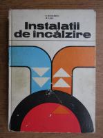 Anticariat: N. Niculescu - Instalatii de incalzire