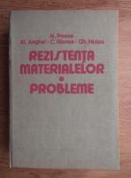 Anticariat: N. Posea - Rezistenta materialelor. Probleme
