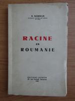 Anticariat: N. Serban - Racine en Roumanie (1940)