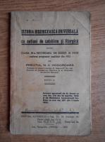 N. V. Hodoroaba - Istoria bisericeasca universala cu notiuni de catehism si liturgica (1937)