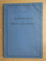 Anticariat: N. W. Akimoff - Resistance of ships and models (1930)