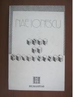 Anticariat: Nae Ionescu - Curs de metafizica