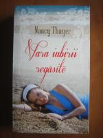 Anticariat: Nancy Thayer - Vara iubirii regasite