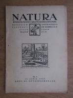 Natura. Revista pentru raspandirea stiintei. No. 6 (1929)