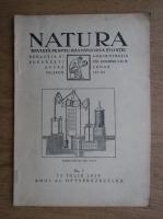 Natura. Revista pentru raspandirea stiintei. No. 7 (1929)