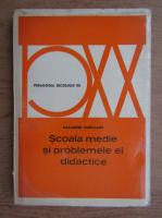 Nazareno Padellaro - Scoala medie si problemele ei didactice