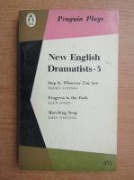 New english dramatists
