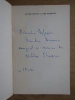 Nichita Stanescu - Cartea de recitire (cu autograful autorului, 1972)