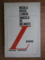 Nicola Rossi Lemeni - Dincolo de neliniste
