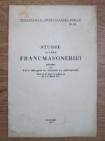 Anticariat: Nicolae al Ardealului - Studiul asupra francmasoneriei (1937)